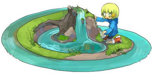 River of self-circulation by mimupon