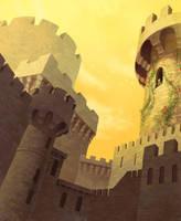 The Stone Tower by ebonysnowwhite