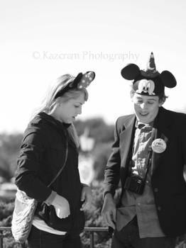 Mickey and Minnie by coldbritto