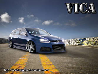 VW Golf Variant by vicadesigner