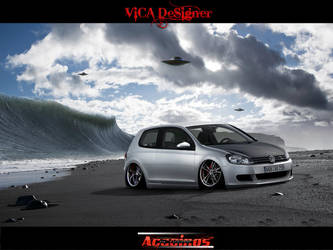 VW Golf 2009 Updated by vicadesigner