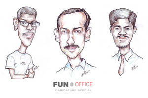 Office - Caricatures by libran005