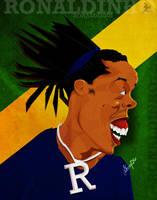 Ronaldinho - Caricature by libran005