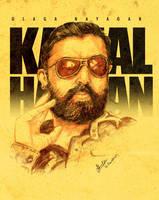 Kamal Hassan by libran005