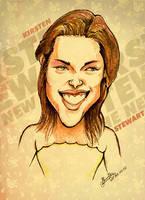 Kristen Stewart - Caricature by libran005