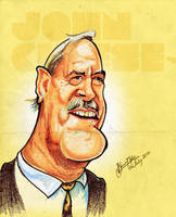 John Cleese - Caricature by libran005