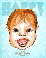 Baby Caricature by libran005