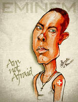Eminem - Caricature by libran005