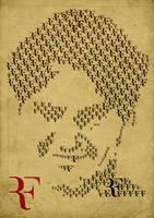Roger Federer - Typo Portrait by libran005