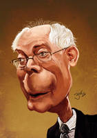 Herman Van Rompuy by libran005