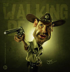Walking Dead Caricature by libran005