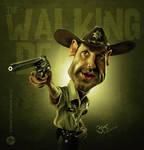 Walking Dead Caricature by libran005