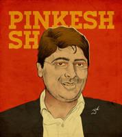 Pinkesh - PopArt Portrait by libran005