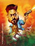 Anjaan SURYA Caricature by libran005