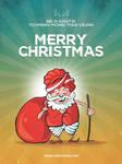 Desi Santa by libran005
