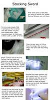 Props: Stocking Glowing Sword by zerartul