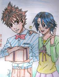 SenSuzu Love Assasin Fanart XP by Pink-Daisy21