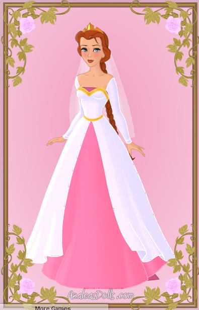 Princess Fiona Wedding Dress By Zozelini