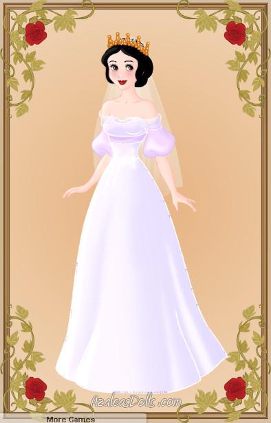 Snow White Wedding Dress By Zozelini On Deviantart