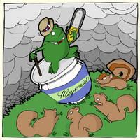 Freddie Frog by lemontea