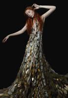 gold birch by Avine
