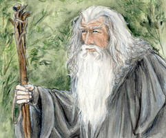 Gandalf by LMRourke