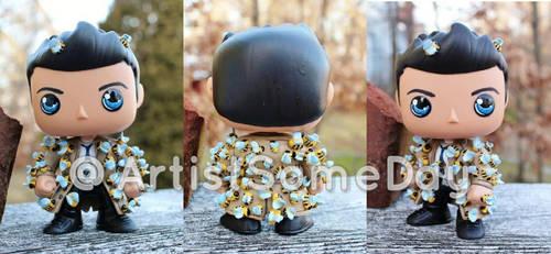 Custom Funko Pop Castiel with Bees by LMRourke
