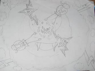 Pokemon lineart by Swanity