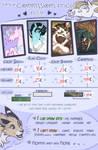 Vanycat's Commissions Prices by VanyCat