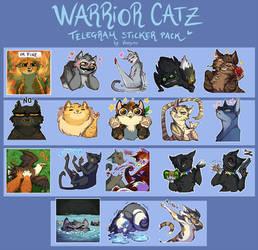 Warrior Catz Sticker Pack by VanyCat