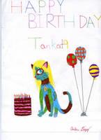 Tankat9's Birthday by AnimeDogz