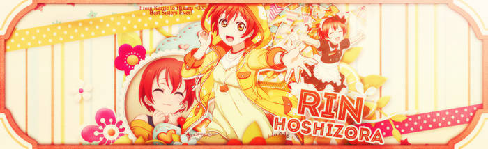 [Art#4] Rin Hoshizora by KariieCuteo102