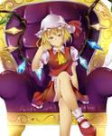 Flandre Scarlet-The Queen by Ryuu-kun76