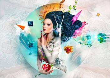The Garden of Eden by stellartcorsica