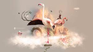 Flamingo Land - Desktopography 2016 by stellartcorsica