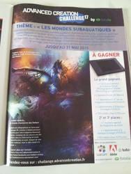 Shark World challenge advertising Publication by stellartcorsica