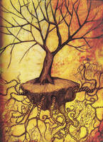uprooted tree by XxXtanerXxX