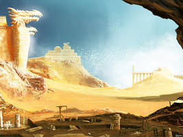 Temples and excavations by littlewing2