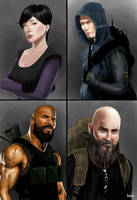 Characters by littlewing2