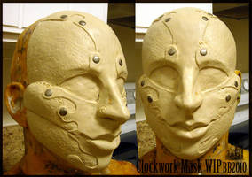 Automaton Mask WIP by Magpieb0nes
