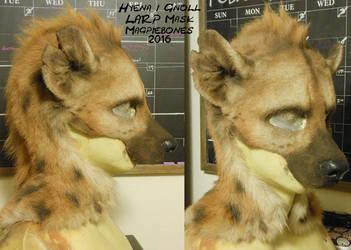 Hyena/ Gnoll LARP Mask by Magpieb0nes