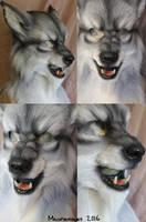 Werewolf closeups by Magpieb0nes