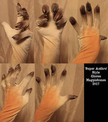Super Anthro Gloves by Magpieb0nes