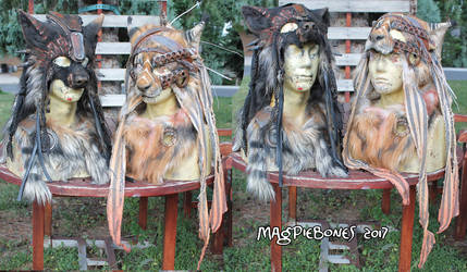 Wasteland Beasts Masks by Magpieb0nes