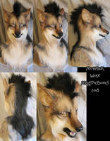 Mohawk Wolf by Magpieb0nes