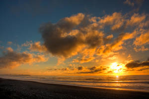 Sun Dyed Clouds... by Mikelyjohnsono