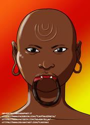 African boy by YukiOshi