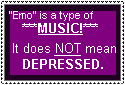 Stop abusing the term 'EMO' by Endoh-sama