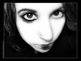 Eyelashes by punksafetypin