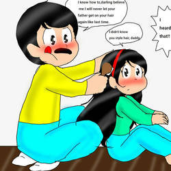 TLP Next Gen : Dad can style hair too by mjackson5